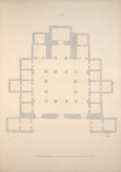 Ground Plan of Cave 21, Ajanta